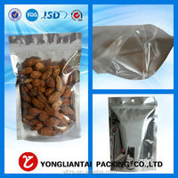 High Quality 9cm*14cm+3cm Bottom *140micron Packaging Bag Food Laminating Pouches Retail Plastic Bag