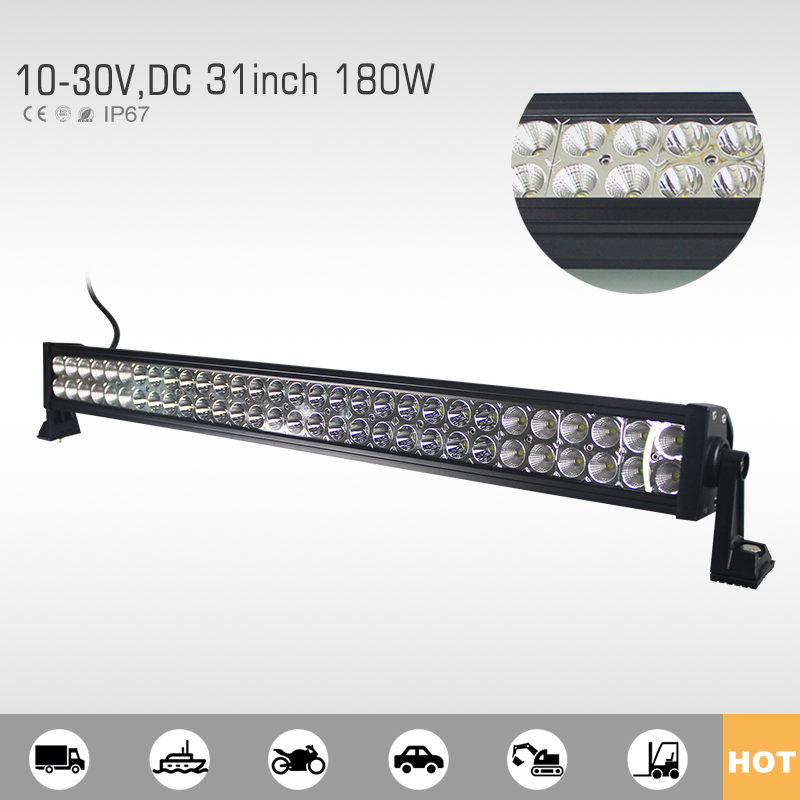 Economic and Efficient car accesories 180w 4x4 led light bar