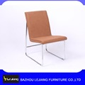 dining room furniture pu metal chair