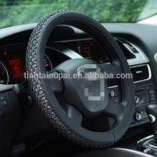 Hot selling foam leather car steering wheel cover