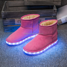 Led Lighting Up Lovely Comfortable Snow Boots