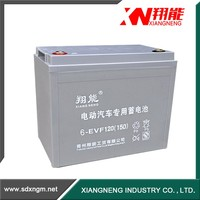 Maintenance free car battery gel battery motorcycle