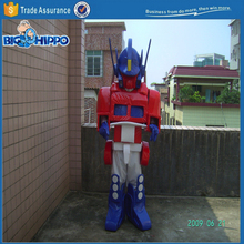 Movie robot leader transforming truck optimus prime high quality custom mascot costume