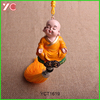 YCT1619 Peace Baby Monk resin Craft buddha with rope statue inside Pendant style