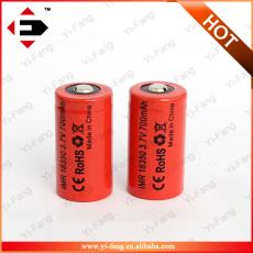 IMR18350 18350 700mah Rechargeable Safe Chemistry mods Battery