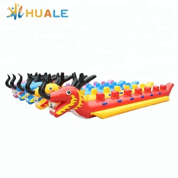 0.9mm PVC 6m long inflatable boats/inflatable dragon boat for sport game