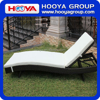 Adjustable Outdoor Rattan Lounge