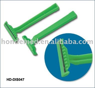HD-DIS047 disposable single edge and double blade razor