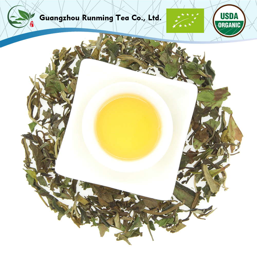Latest Popular Health Benefits First Grade Organic Slimming Tea Pai Mu Tan White Tea With Private Label