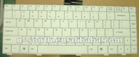 Notebook keyboards Laptop keyboard For ASUS F80C F80 F81 F83CR F80CR X85 X85S US RU IT SP UK AR GR White