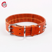 High Quality Classic Soft Leather Dog Collar