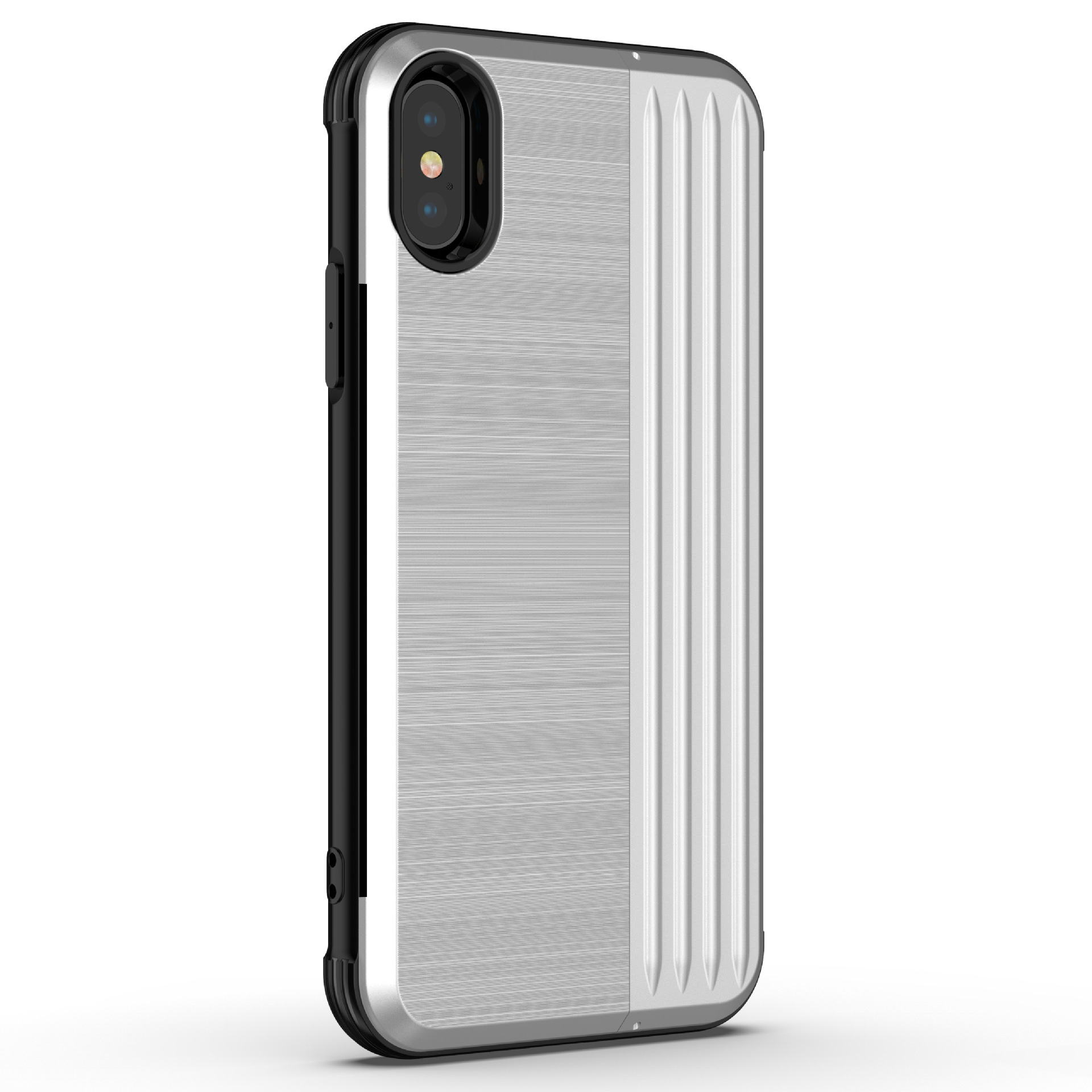 Scratchproof Tpu PC Card Slot Mobile Phone Case Cover for iPhone X XS Max