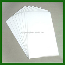 Recycled pulp stype and single side coating side duplex boare paper