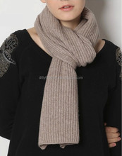 pure cashmere knitting scarf winter italian cashmere scarf