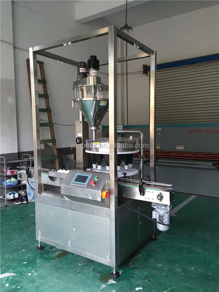 Can bottle Food grade spice packaging machine price