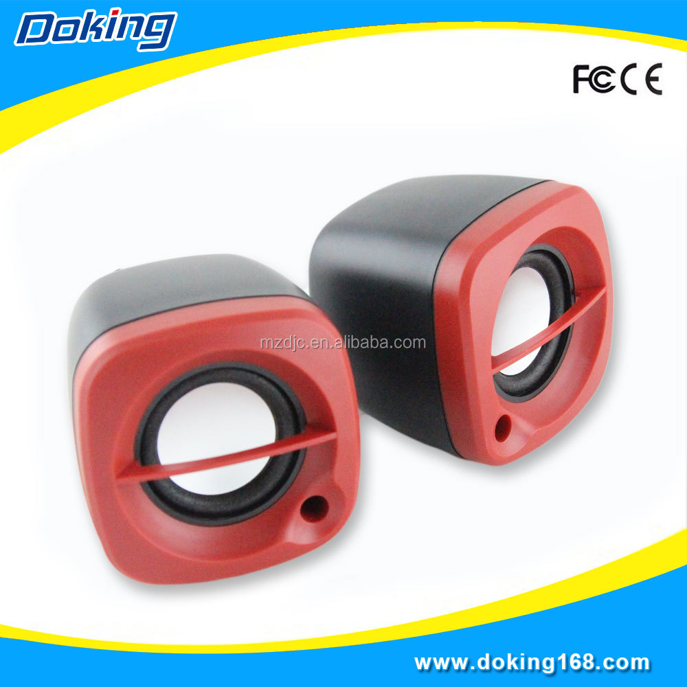 Colorful 2.0 High Quality Audio Mini Computer Speakers