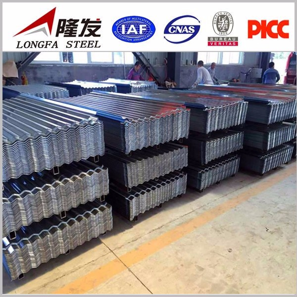 galvanized corrugated steel sheets for walls, roof sheets price per sheet