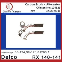 Delco RX 140-141 Electric generator parts carbon brush(WAI 38-124, 38-125)