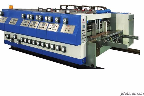 XULIN-B series automatic computerized printer slotter die cutter machine