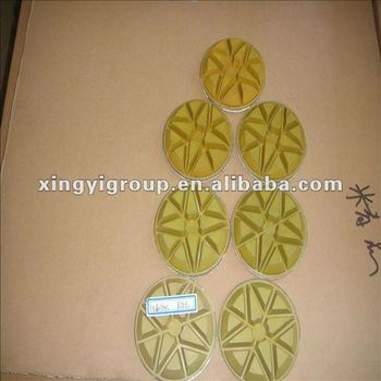 concrete diamond bond grinding pads