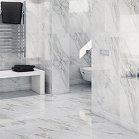 Made in China white marble ceramic Fashion bathroom wall tiles
