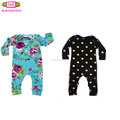 Baby 0-3 years romper Baby clothes yiwu top 100 names Infant bodysuit cotton knit infant soft long sleeve long leg romper onesie
