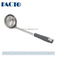 kitchen accessories of stainless steel soup ladle