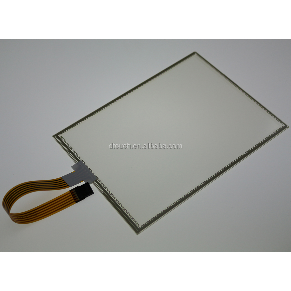 High Reliable Industry Resistive 5 wire Touch Screen for Military Tablet PC
