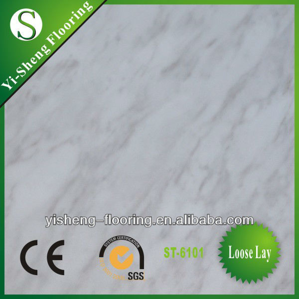 Factory direct sale eco-friendly waterproof pvc vinyl floor tile