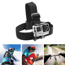 Useful Go Pro 5 Camera Head Strap Mount for GoPro sj5000 xiaoyi etc