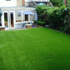 Wholesale natural look garden plastic green grass for outdoor use