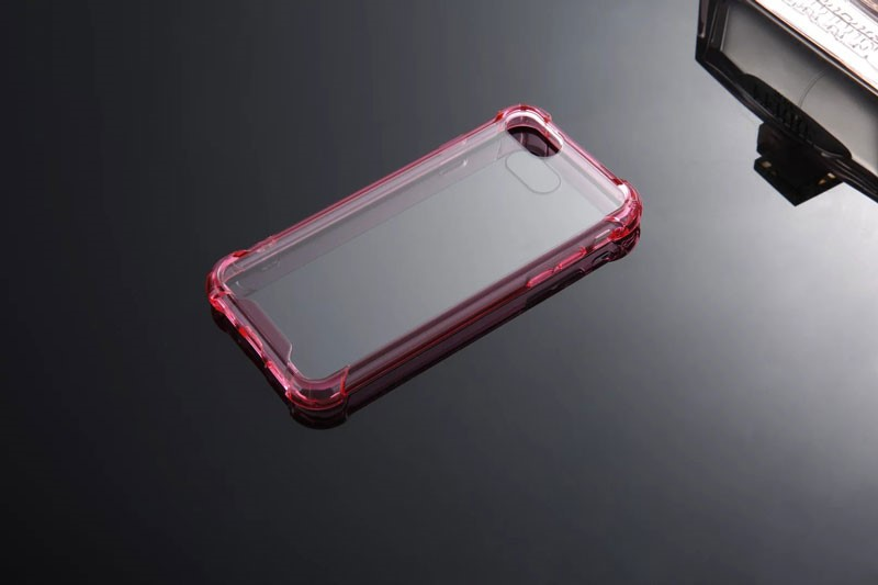 Silicon PC Cover Easy to Use Mobile Phone Case Transparent Case for iPhone 7