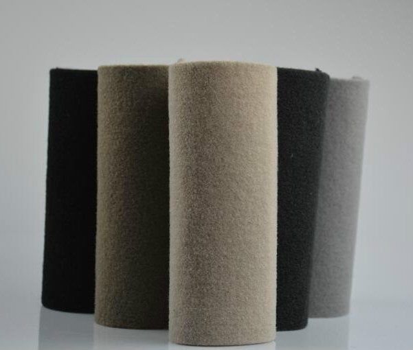 In Stock 100% polyester felt two layer Needle Punched technical polyester fabric