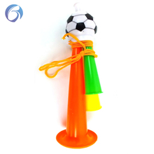 2018 World Cup Football Cheering Fan plastic trumpet,Soccer Fan Horn