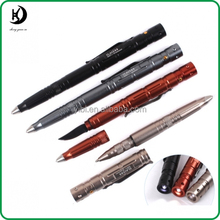 Personal Defense Tactical Pen, Multifunctional Aircraft Aluminum Impromptu Danger Emergent Tool Self-defense Knife Glass Breaker