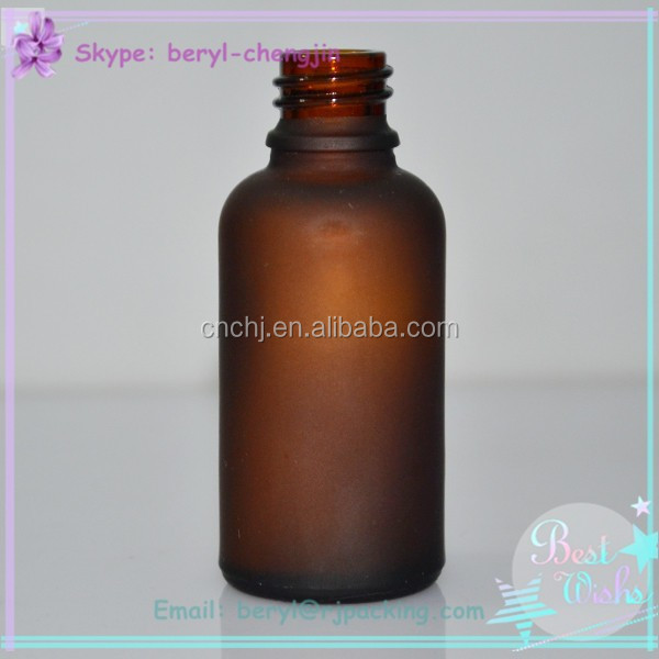 best 30ml clear glass bottle 1oz amber frosted bottle glass airtight glass bottle with eye dropper