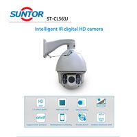 HD IP IR PTZ high focus cctv camera