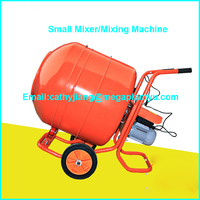 Mobile Mini Concrete Mixer and Dry Powder Mixing Machine for sale
