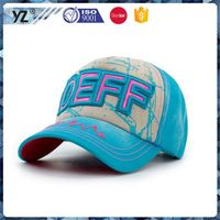 Factory Popular long lasting baseball cap baseball hat headwear from manufacturer