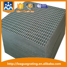 flat m.s.grating with steel angle frame