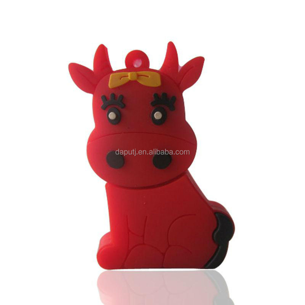 charmingly naive mule deer usb flash drive 3.0 for gift with encryption function