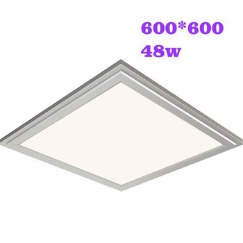 46-48w 600*600mm 120lm/w Wholesale Square led panel light price