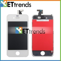 LCD Digitizer Glass White Touch Screen Replacement Assembly for iPhone 4 GSM
