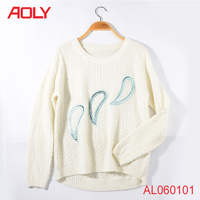 ladies fancy sweater latest design winter sweater cardigan