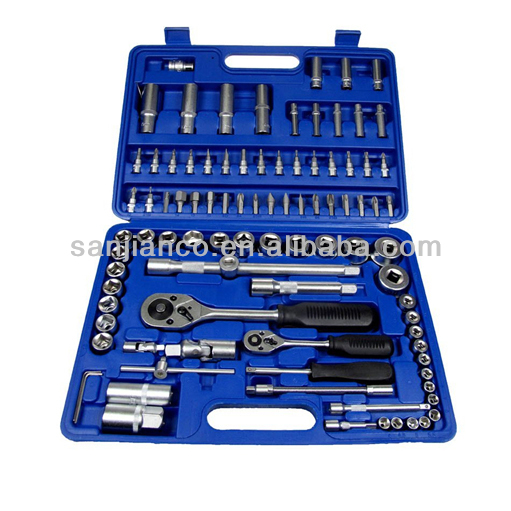 CR-V 94pcs box spanner American socket set(1/4'' & 1/2'')