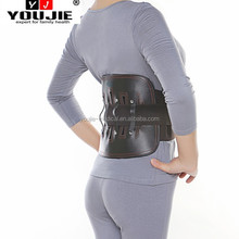 PU leather material back guard lower waist abdominal belt