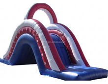 Simple inflatable water slide price/garden water slide for home