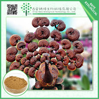 Health food anti-cancer natural herbal Reishi Mushroom extract 50% polysaccharides