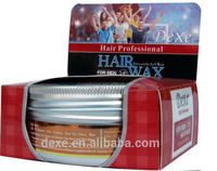 DEXE super hold extra hold hair clay natural herbal best hair wax for men 150g