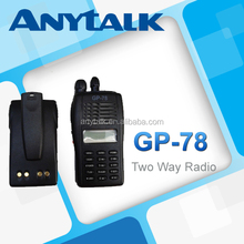 GP-78 ELITE vhf uhf popular scrambler 2 way radios paraguay